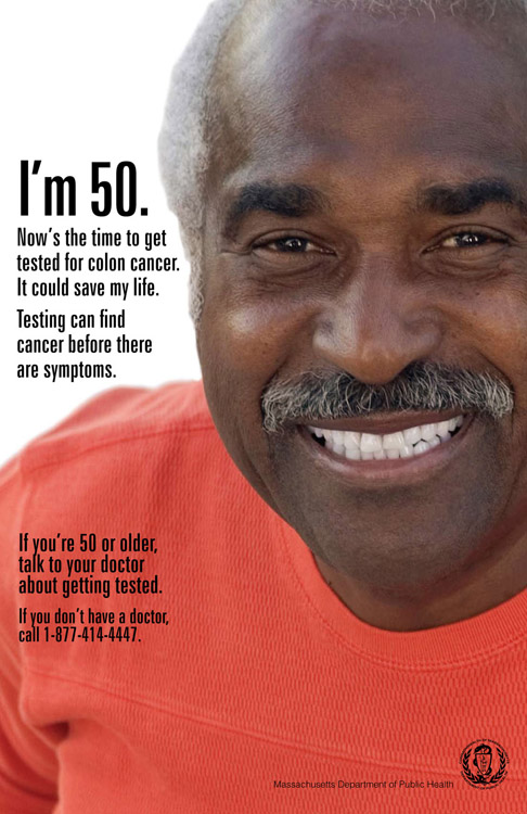 Now S The Time To Get Tested For Colon Cancer Massachusetts Health Promotion Clearinghouse