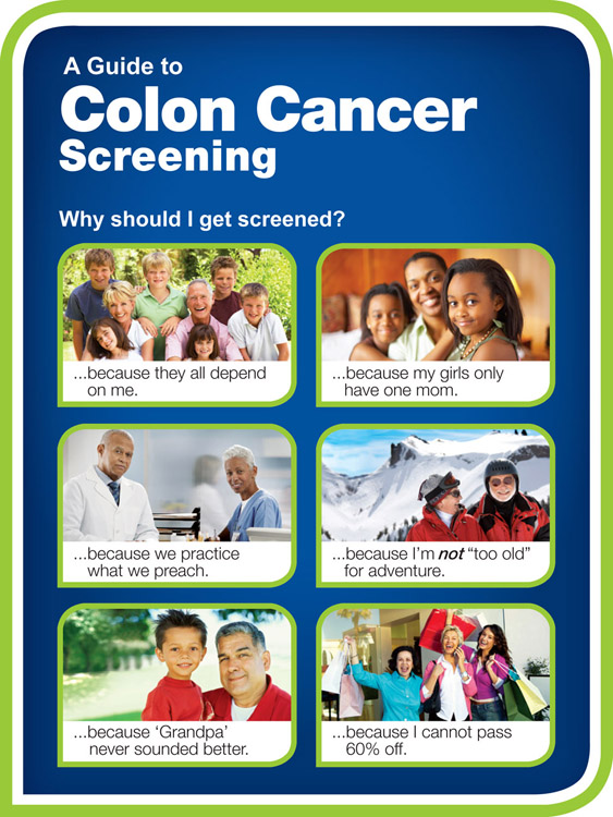 A Guide To Colon Cancer Screening Massachusetts Health Promotion Clearinghouse