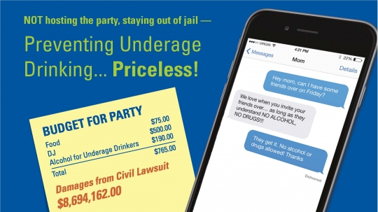Preventing Underage Preventing Underage Drinking Drinking Priceless